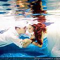Lung & Hsiu-水中婚紗