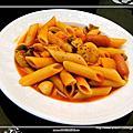 1000813蕃茄鮮蝦義大利麵
