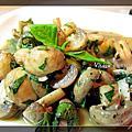 1020301塔香鯷魚炒蘑菇