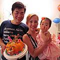 菲菲一歲生日