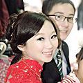 【作 品】芳訂婚造型紀錄