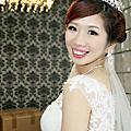【作 品】玲結婚造型紀錄