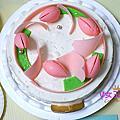 【宅配蛋糕】法雅花園冰品甜點 ~ 朵朵夏威夷果仁