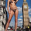 Eve Amazon 伊芙亞瑪遜 全球最高的模特兒