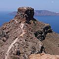 【飛與行的記憶】國外∣希臘:在聖托里尼選一座上來爬 - Skaros Rock