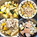 【無油煙電磁爐系列】日式蔬菜煮,天涼好個秋~