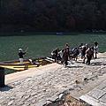 1061117 嵯峨野小火車&保津川遊船