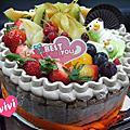 【台南】地球咖啡-生日蛋糕