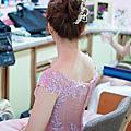 訂婚優雅盤髮造型-新娘秘書台北Wedding女皇 簡珮瀠