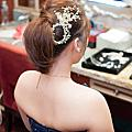 俏麗高馬尾造型-新娘秘書台北Wedding女皇 簡珮瀠