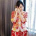 中式龍鳳掛訂婚造型-新娘秘書台北Wedding女皇 簡珮瀠