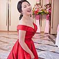 清新時尚低婚禮造型-Wedding女皇 簡珮瀠