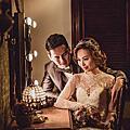 花新娘系列-花朵的皇冠 /禮服林莉 攝影 林莉/Duncan