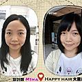 happy hair大里店~106.09.07