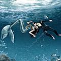 4D水中攝影美人魚系列
