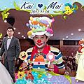 屏東婚禮小丑氣球