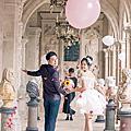 氣球婚紗照