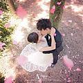 花瓣婚紗照