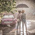雨景婚紗照