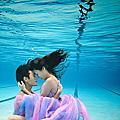 水中婚紗攝影【高雄婚紗照推薦】感謝新人提供