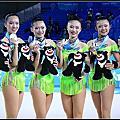 台北世大運 韻律體操 團隊