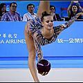 台北世大運韻律體操 球