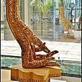 竹田光幸手像的世界木雕展