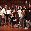20110129 The Beetrops 去看組揮太太演出~