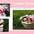 ❤ღ手作ღ❤襪子娃娃-幸福婚禮