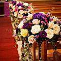 湖光教會-內湖(紫色華麗典雅結婚典禮)