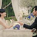 桐花芽蔬食咖啡(藍正龍&周幼婷)戶外婚禮像置身歐洲的場景in新竹