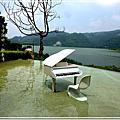 鯉魚潭。湖光水色、夢幻湖畔鋼琴