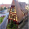 童話小鎮羅騰堡(Rothenburg ob der Tauber)的豔遇