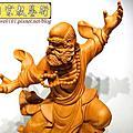 L44.達摩祖師木雕 樟木神桌神像雕刻