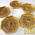 I76.卜掛盤製做 實木八掛盤雕刻 占卜卦盤