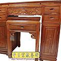 M146.柚木神桌 箱櫃式佛桌 4尺2上下桌