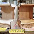 M162.壁掛式神桌製作 半櫥神龕 吊櫥佛龕公媽龕設計