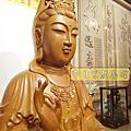 L60.觀音木雕神像 樟木神像雕刻