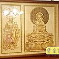N310.櫃型神桌箱櫃佛桌 4尺2神龕神聯觀世音菩薩公媽聯