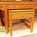 M192.天然柚木佛桌製作 4尺2神桌 明式公媽桌樣式