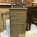 M196.綠檀公媽櫃 1尺58小供桌 佛桌