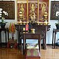 N349.五尺一中式元寶佛桌 二尺九公媽桌