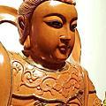 L67.神桌神像雕刻~九天玄女木雕佛像