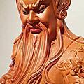 L74.關聖帝君神像雕刻