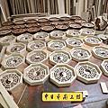 I171.八卦盤製作 實木雕刻