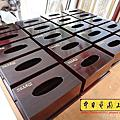 I185.木製面紙盒雕刻 雷射雕刻代工