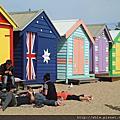 Melbourne 彩色小屋與melbourne zoo