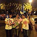 加班娛樂~有氣球和小丑