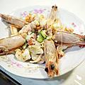 黃金蝦馬鈴薯沙拉