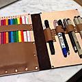 筆記本型鉛筆盒